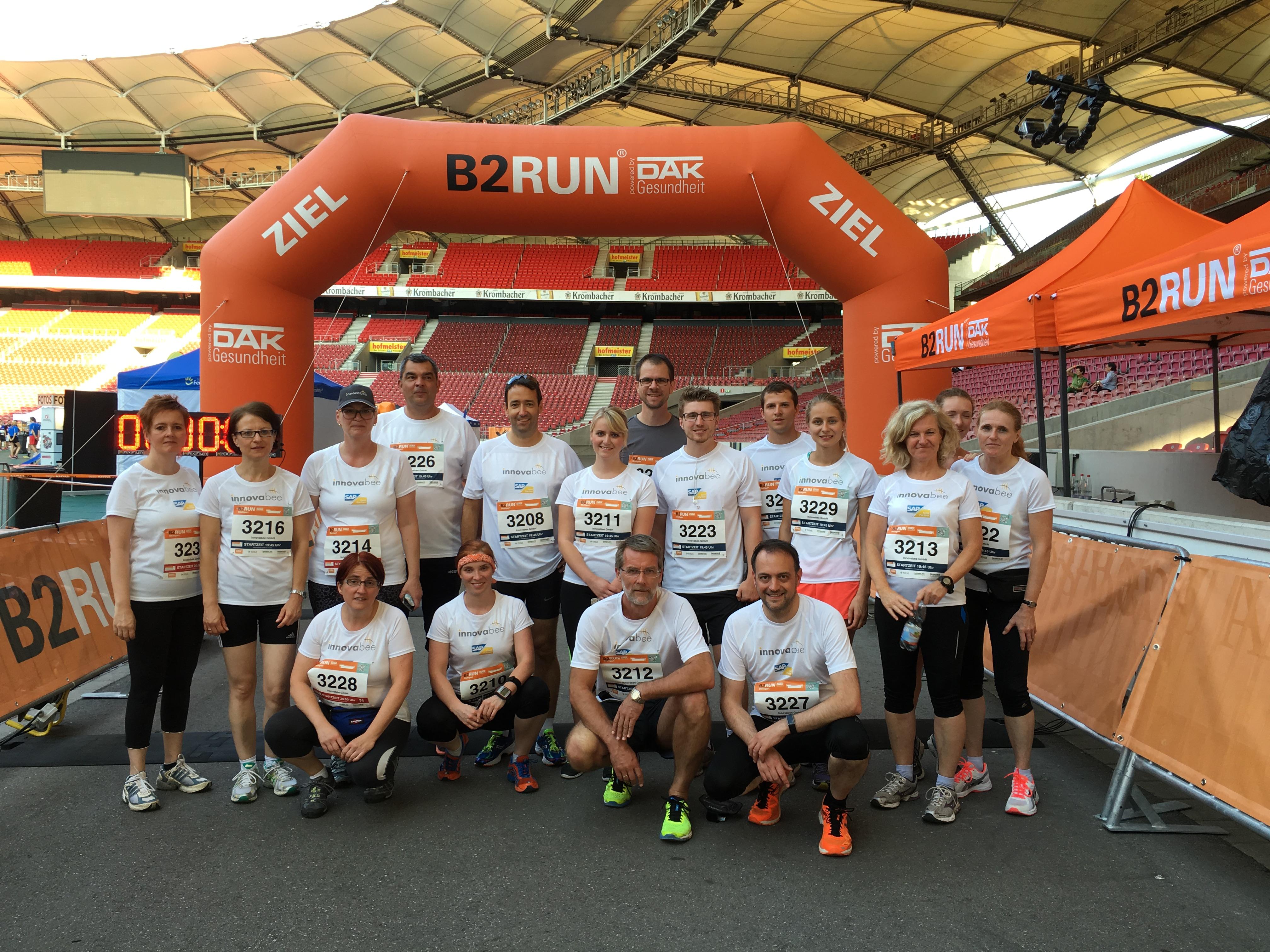 IMG 6357 - Innovabee-Team startet beim B2RUN in Stuttgart